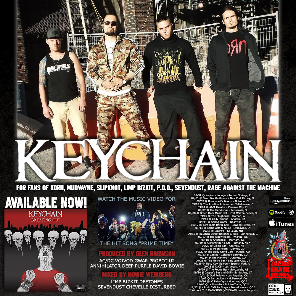 Keychain 'Breaking Out' Available NOW!