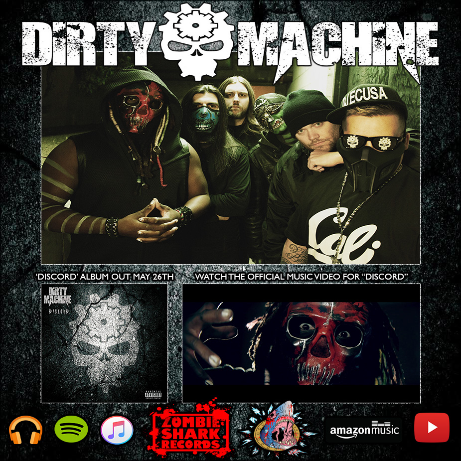 DIRTY MACHINE signs to Zombie Shark Records